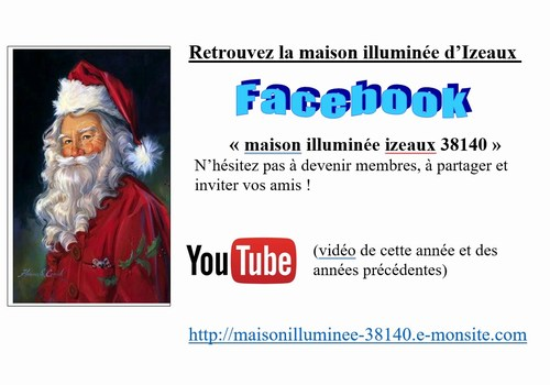 Mini maison fbook et you tube