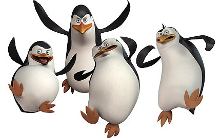 Pingouins de madagascar