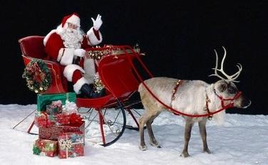 Maison illuminée pour Noël à Izeaux
